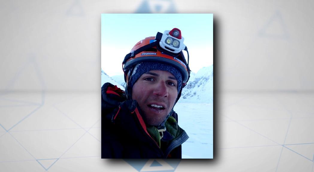 Gonzalo Fernández corona el Gasherbrum II