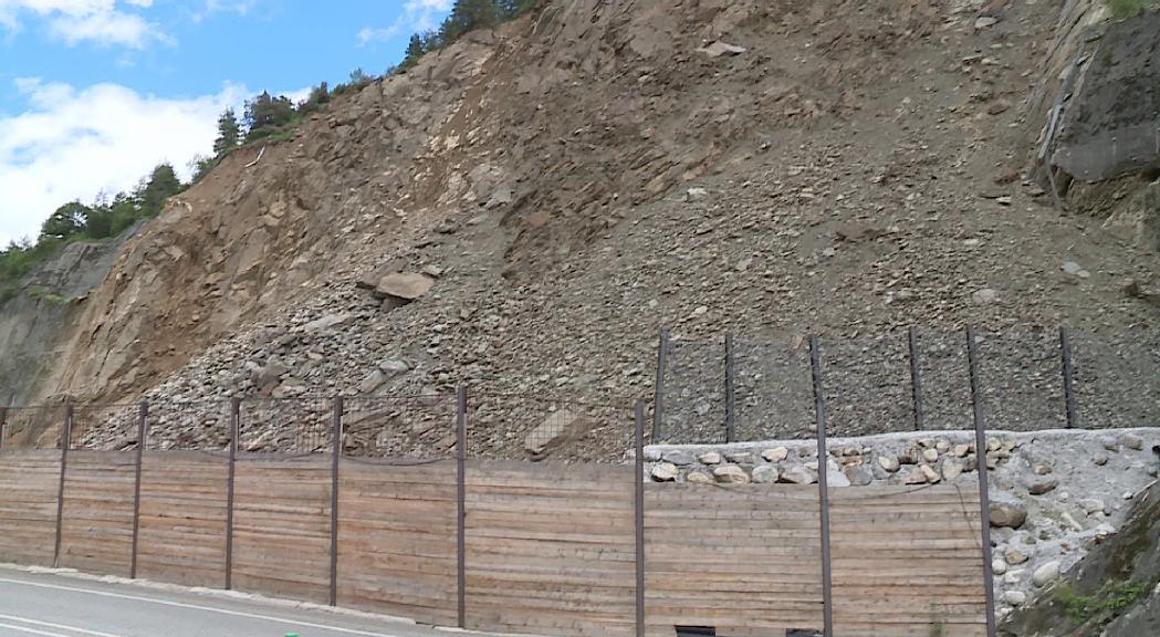 El Govern adjudica les obres de l'esllavissada de la Portalada per 4,8 milions i reclama les despeses a les asseguradores