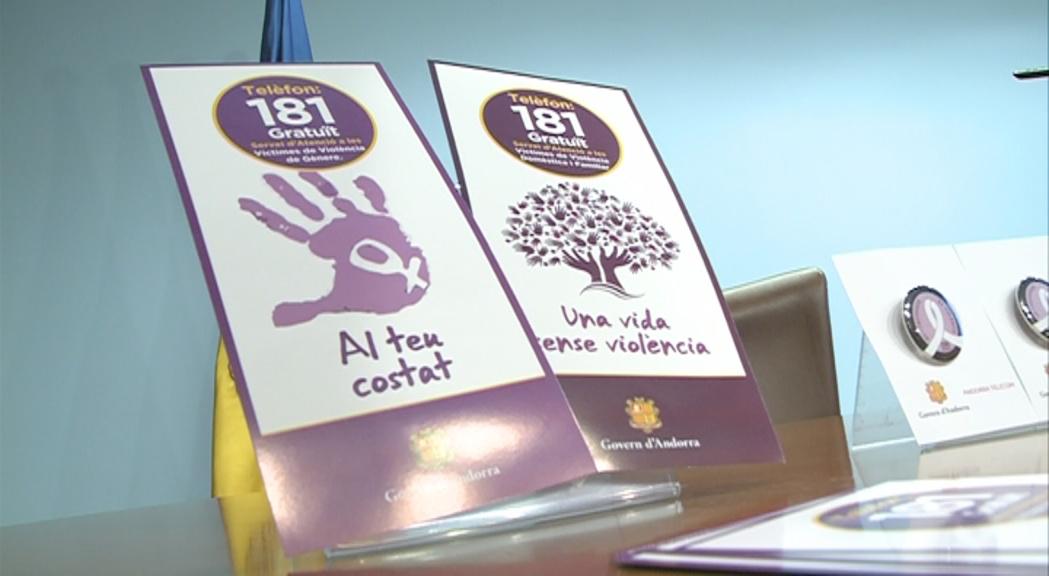 El Govern i Andorra Telecom inicien una campanya contra la violència masclista