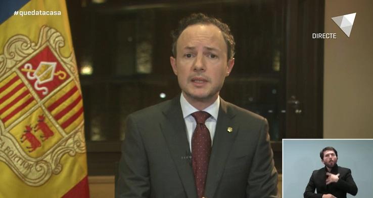 El cap de Govern compareix dissabte a RTVA a les 20h per respondre dubtes de la ciutadania sobre la Covid-19