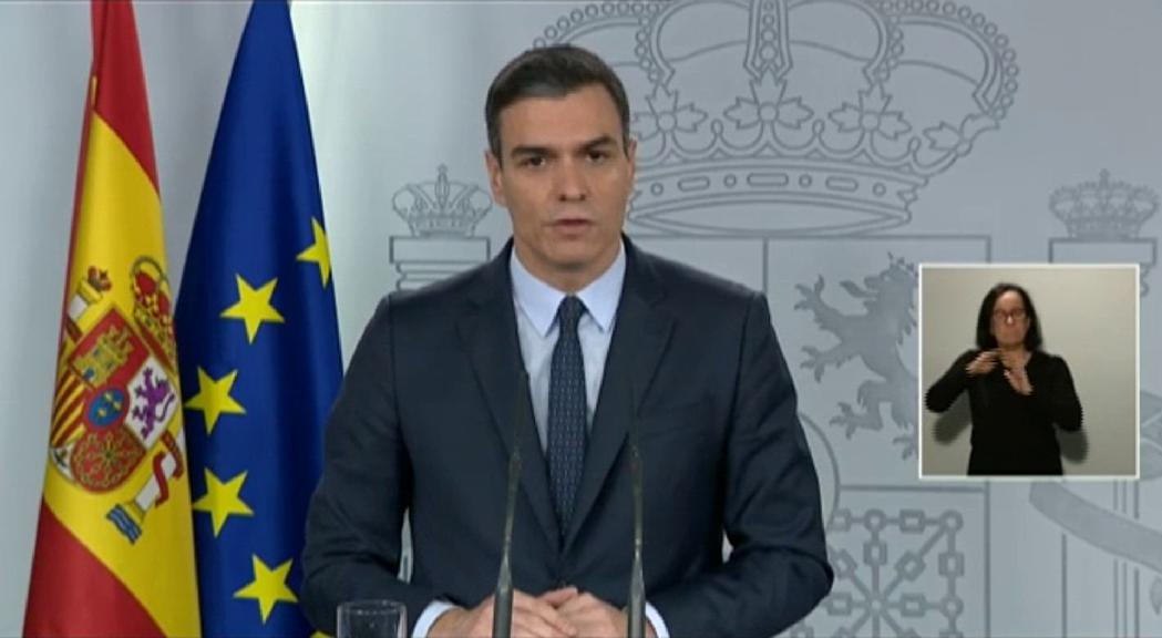 A Espanya, el Govern vol ampliar l'estat d'alarma durant