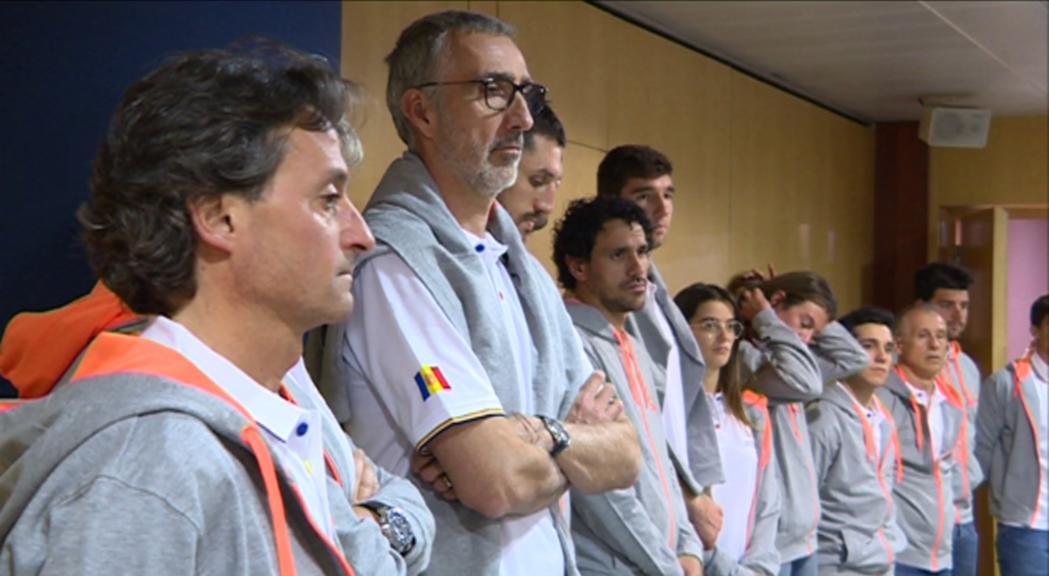 El cap de Govern rep als 12 atletes andorrans dels Jocs Europeus