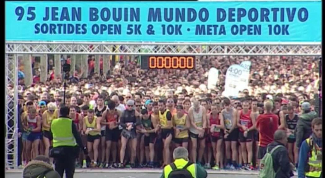 Gran representació del club Amics Atletisme Andorra a la cursa Jean Bouin