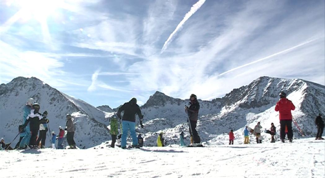 Grandvalira inaugura la temporada de neu aquest dissabte, m&eacut