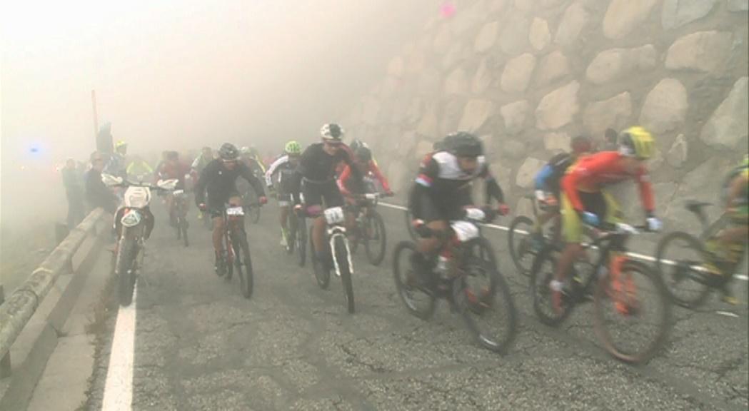 Guillem Muñoz, Cristina Oliva i Xavier Ferrer guanyen la primera Andorra Bike Race