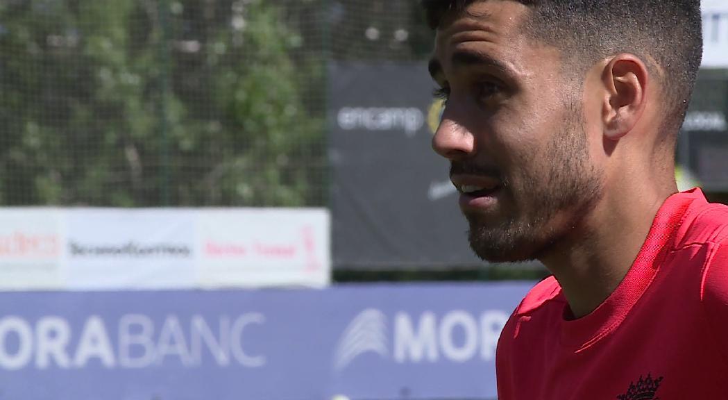 Herrera ja s'entrena amb l'FC Andorra mentre l'inici de la segona B espanyola es manté en suspens