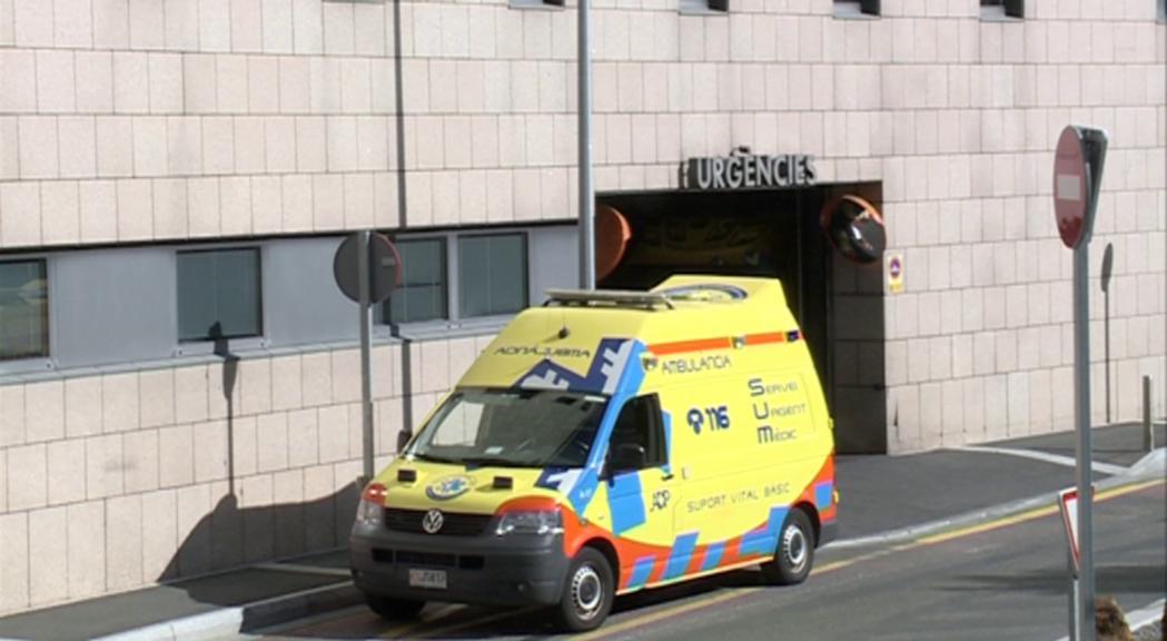 Un home de 56 anys es troba ingressat a l'hospital Sant Pau d