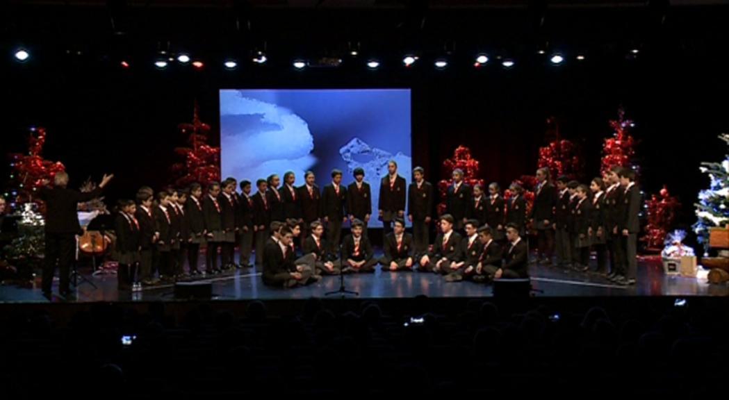 Homenatges i sorpreses en el concert dels Petits Cantors en benefici de l'escola de Meritxell