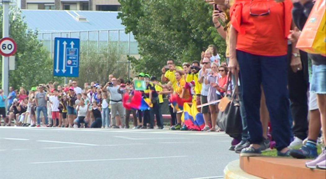 El pas de la Vueltal'1 de setembre també repercu