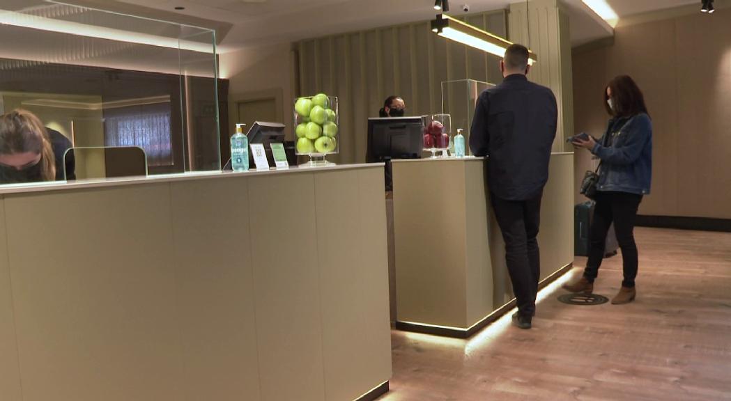 Es manté l'ocupació hotelera en un 55% de les places venudes dura