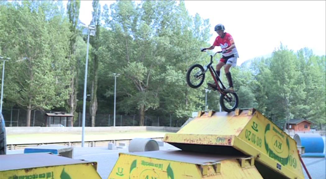 Hugo Orgaz, 18è als Jocs Mundials de bicitrial a Polònia
