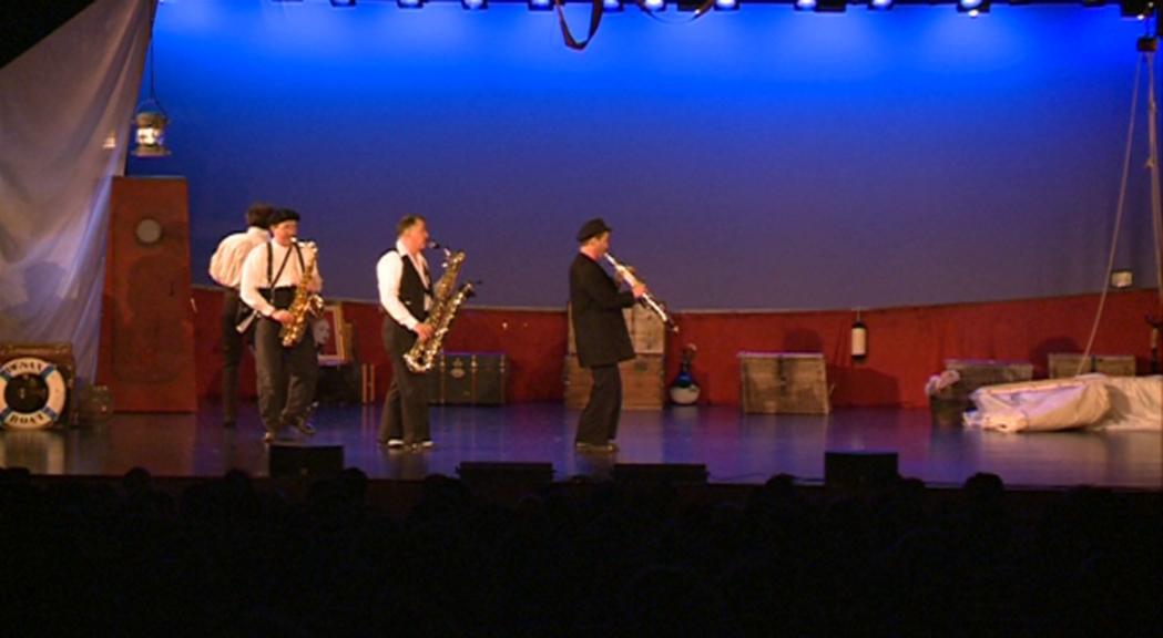 Humor i música amb Desaxés per anar obrint boca al Sax Fest