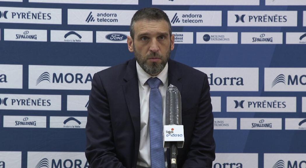 """Ibon Navarro: """"Igual que contra el València, remem amb molt de cor, però amb poc cap"""""""