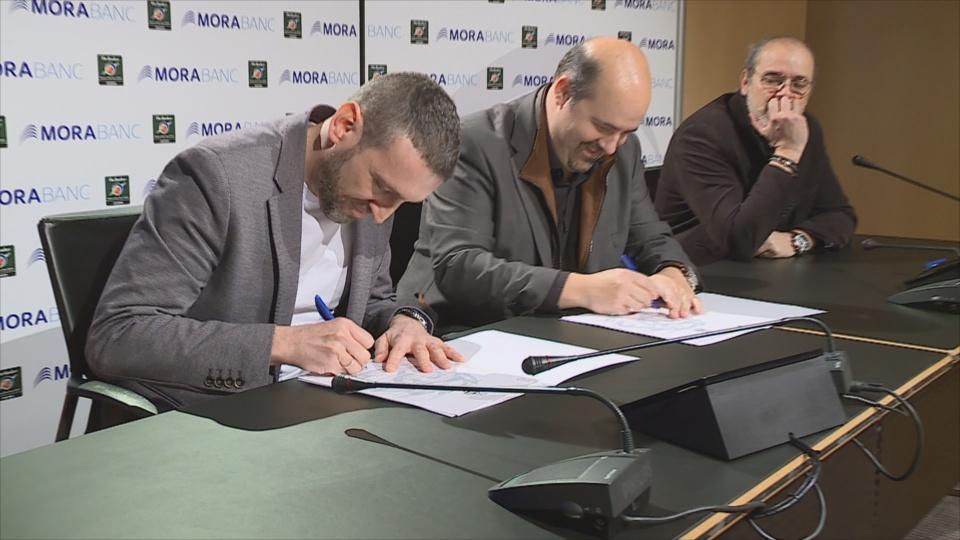 Ibon Navarro renova per dos anys més amb el MoraBanc Andorra