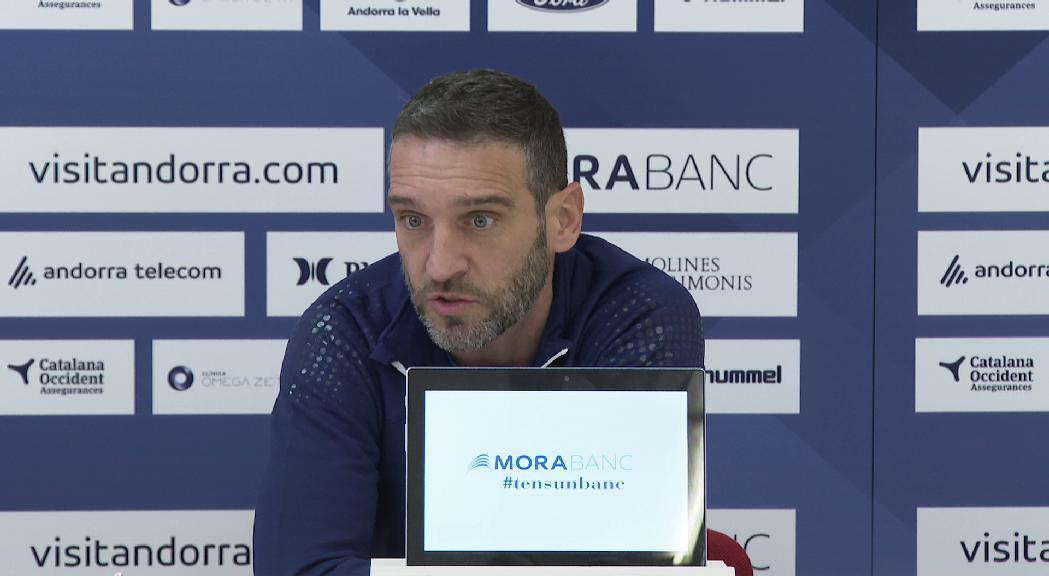 Ibon Navarro vol recuperar energia i solidesa per superar el València