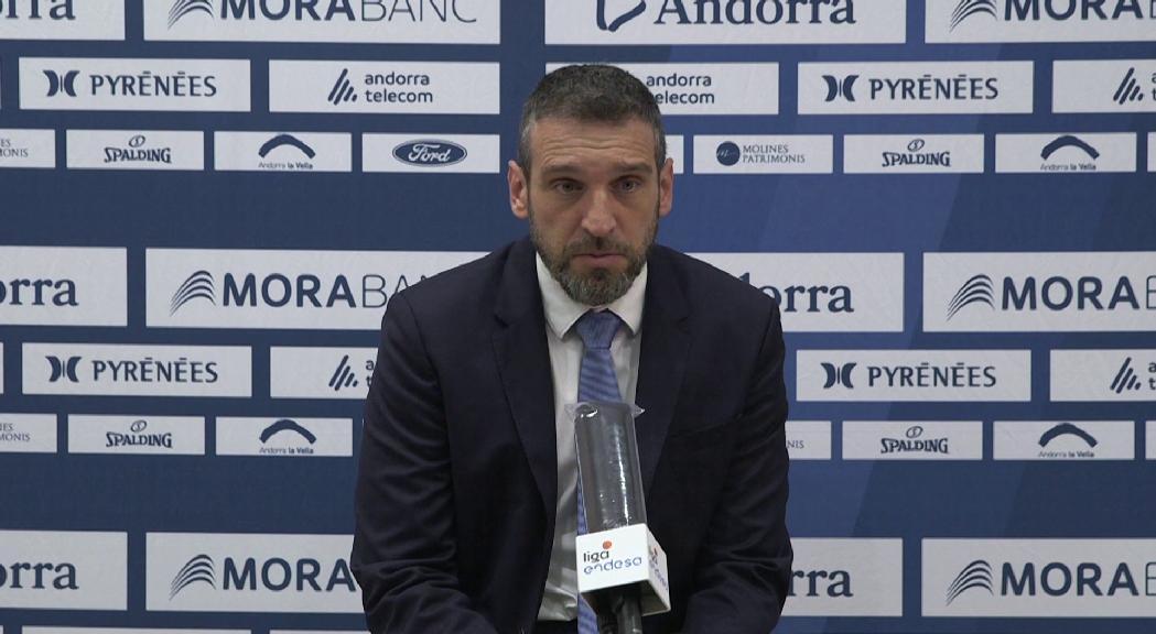 """Ibon Navarro: """"Crec que hem merescut aquest premi, després d'haver treballat tant i tan bé"""""""