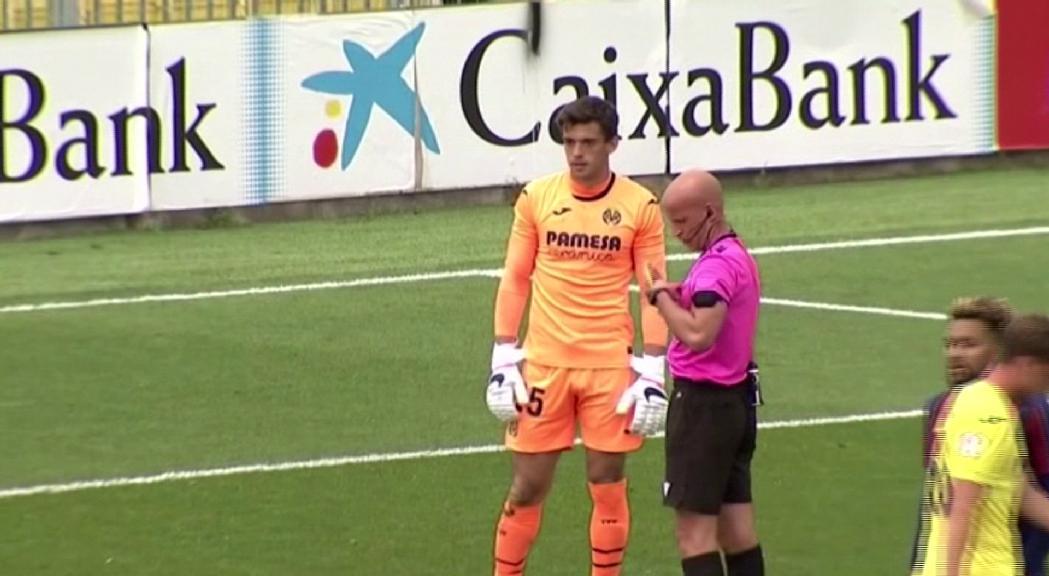 Iker Álvarez s'estrena a segona B
