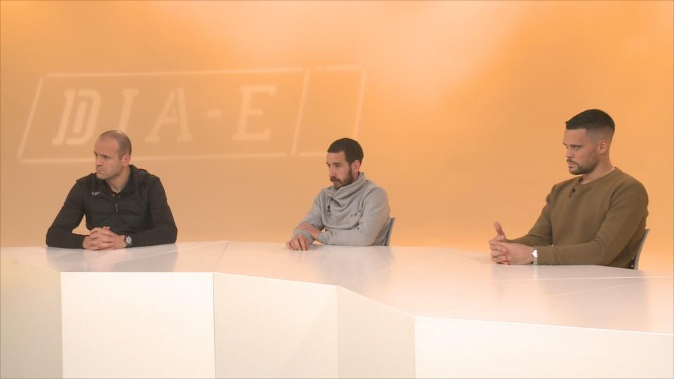 Ilde Lima, Cristian Martínez i Marc Vales, tres puntals d'una selecció que assaboreix el moment més dolç
