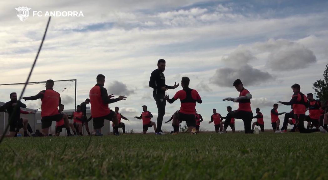 Il·lusió i ganes de fer història entre l'expedició del FC Andorra a Almendralejo