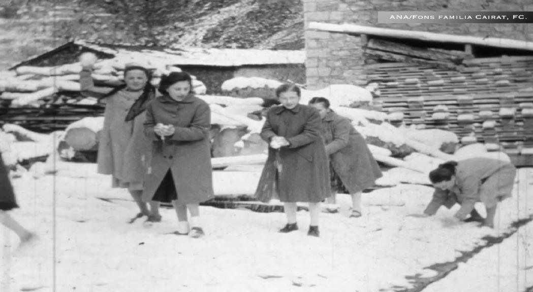 Unes imatges del Fons Cairat Vila de l'Arxiu Nacional commemoren el Dia internacional del patrimoni audiovisual