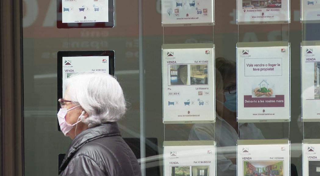 Les immobiliàries tornen a obrir