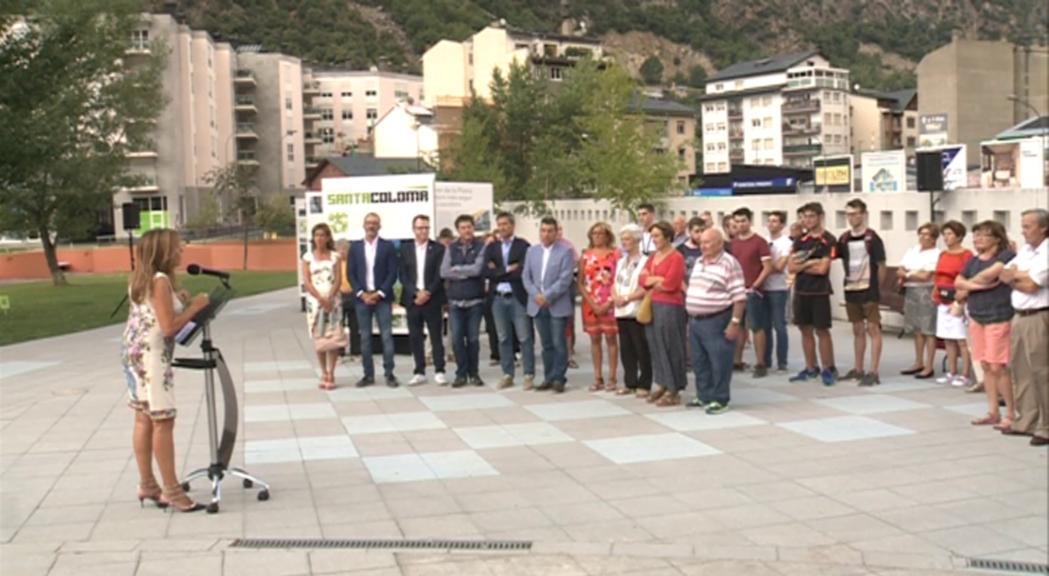 """S'inaugura al Columba l'exposició de """"La nova Santa Coloma"""""""