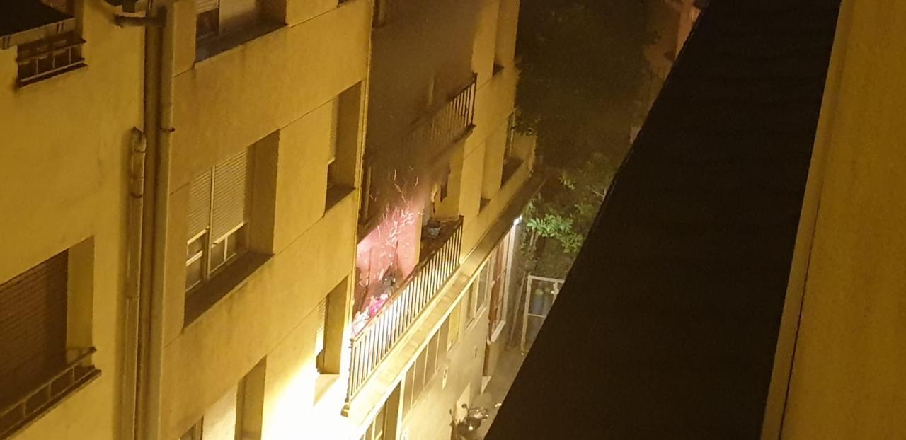 Un incendi en un pis d'Escaldes-Engordany obliga a evacuar tot l'edifici