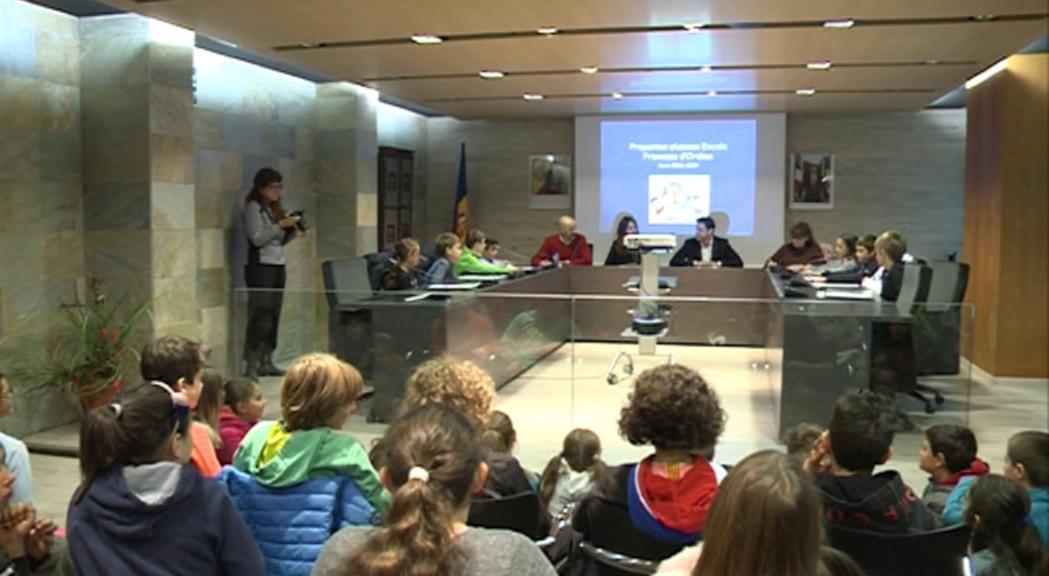 Els infants d'Ordino proposen mesures per a una parròquia sostenible