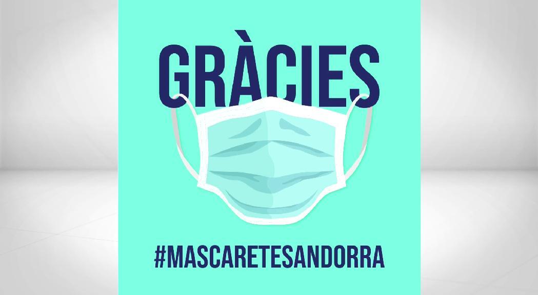 La iniciativa Mascaretes Andorra ja n'ha fabricat 6.500 i en vol continuar fent