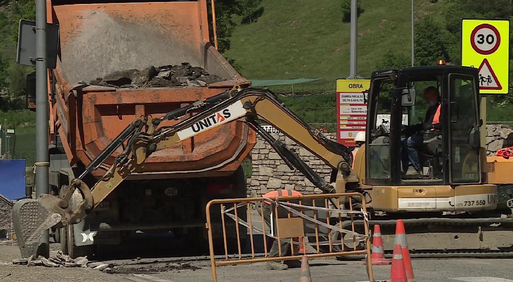 Inquietud a la construcció per la retallada en obra pública