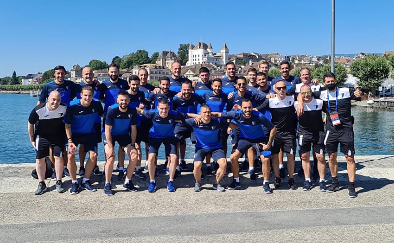 L'Inter Club Escaldes es prepara a Nyon per a l'estrena a la Champions