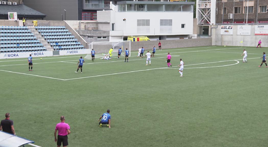 L'Inter d'Escaldes cau eliminat a la pròrroga pel Teuta albanès a la Conference League