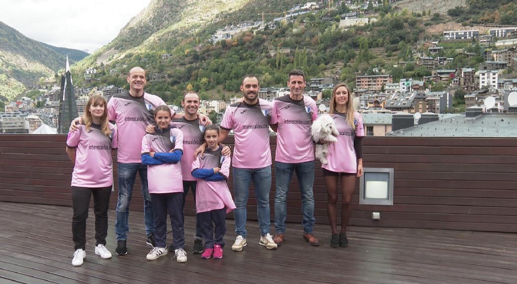 L'Inter d'Escaldes jugarà diumenge amb una samarreta rosa amb motiu del Dia internacional contra el Càncer de Mama