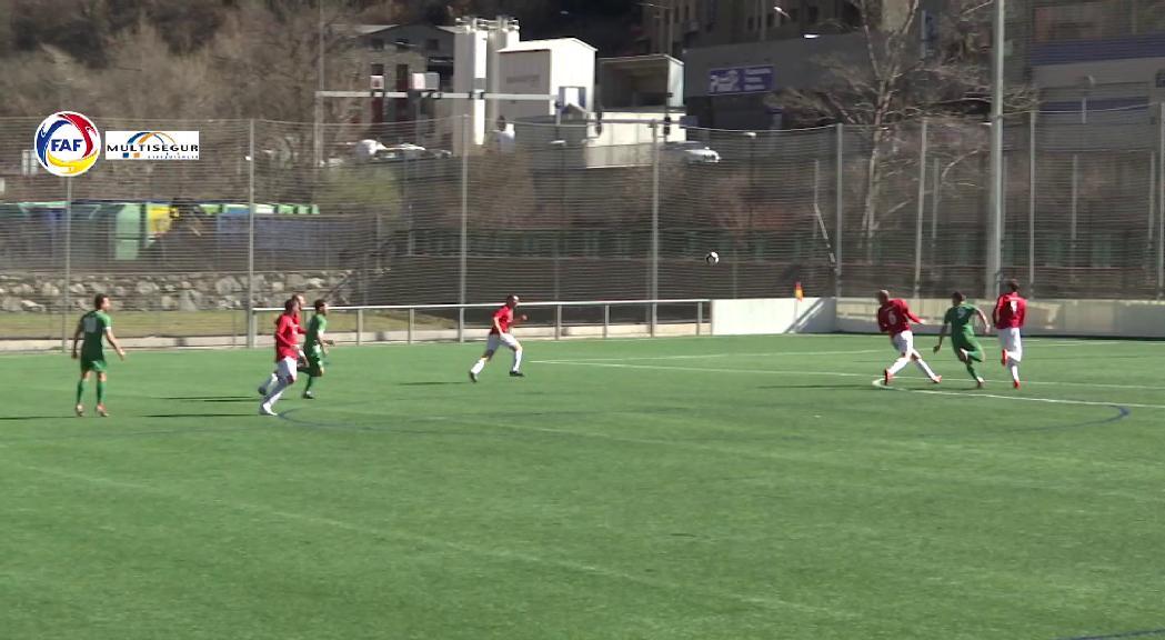L'Inter d'Escaldes manté el lideratge amb quatre punts d'avantatge després de la victòria contra el Sant Julià