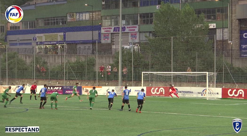 Investigats dos partits entre l'Inter d'Escaldes i el Sant Julià per frau en el resultat