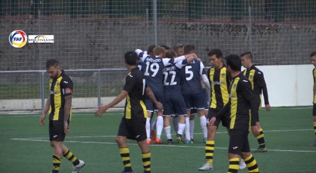 Inter d'Escaldes-UE Sant Julià i VallBanc Santa Coloma-UE Engordany obriran el play-off pel títol