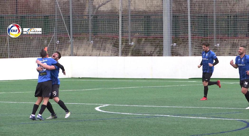 L'Inter goleja el Penya d'Andorra i és nou líder en solitari