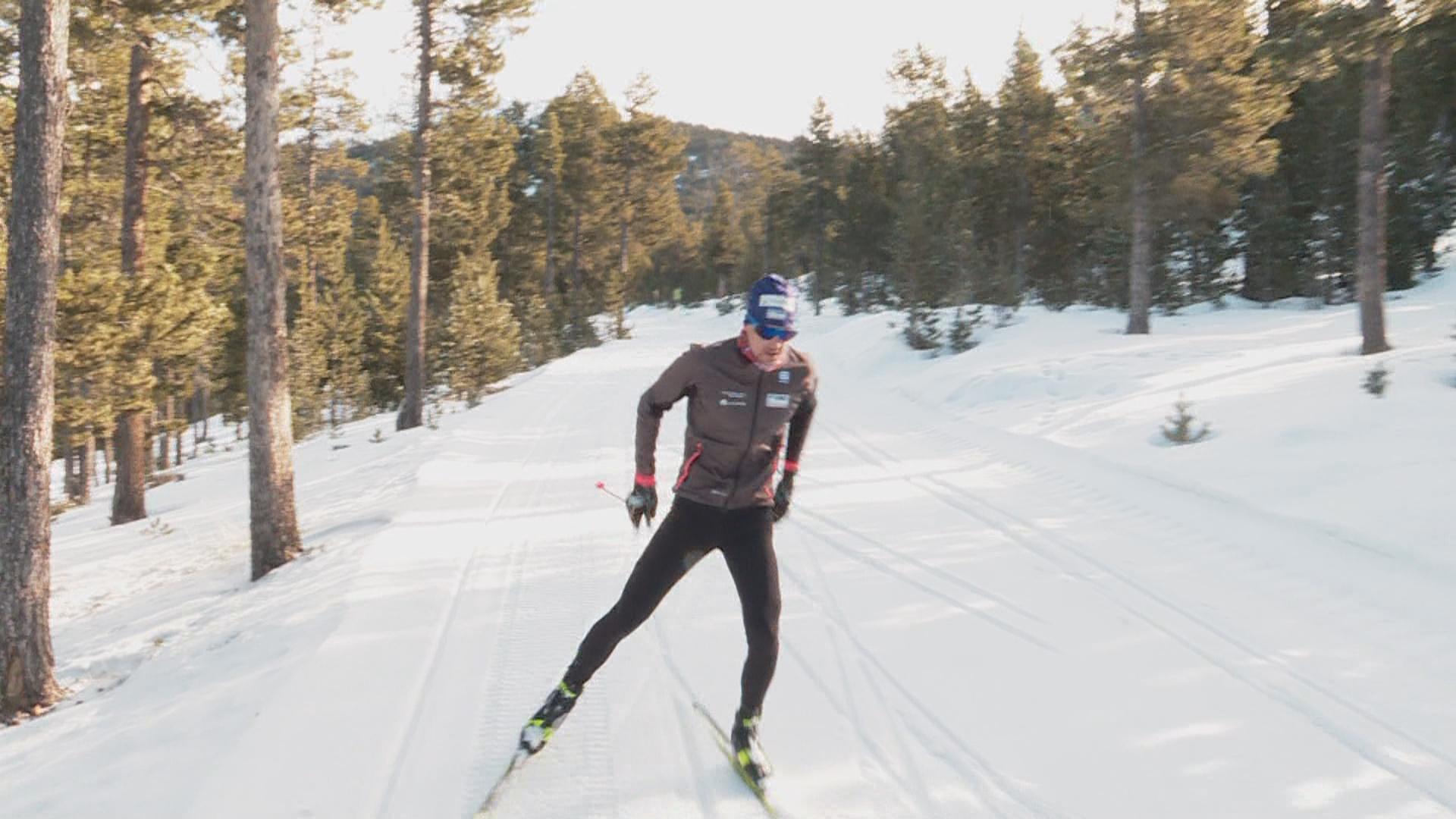 En esquí de fons Irineu Esteve ha acabat en el lloc 17 a l
