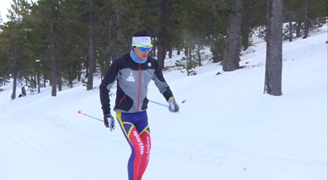 Irineu Esteve 40 als 15 km clàssics