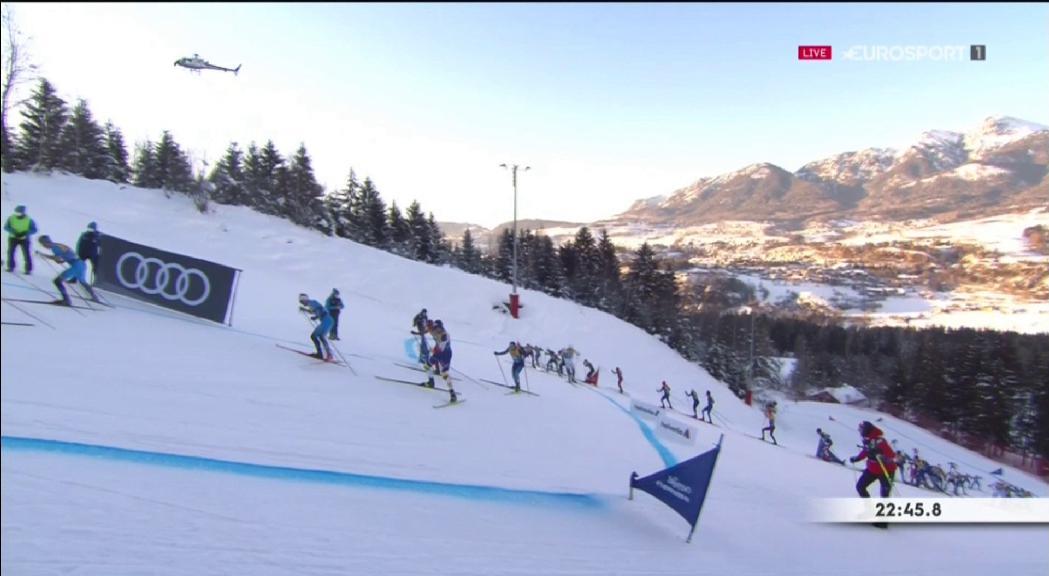 Irineu Esteve acaba el Tour d'Ski amb una brillant 13a plaça i 22è a la general