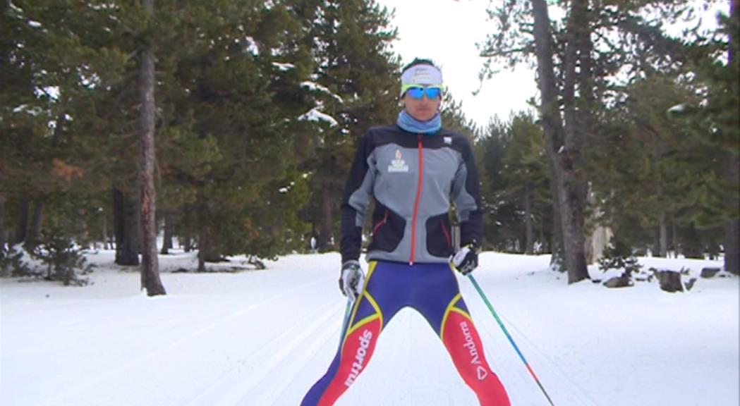 Irineu Esteve es mantè al Top30 del Tour d'Ski a una prova del final