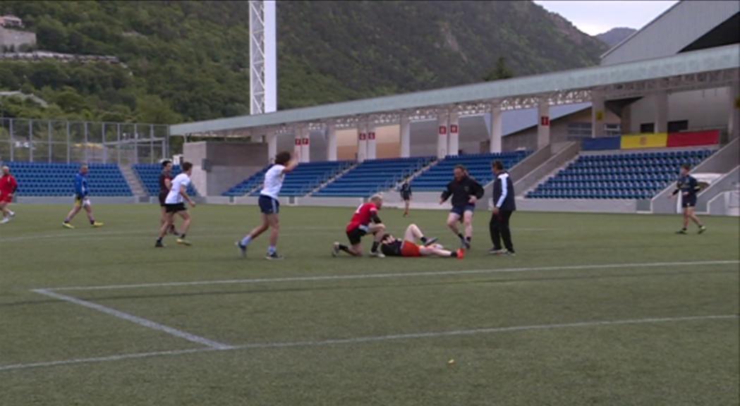 La selecció masculina de rugbi de 7 ha debutat amb una der