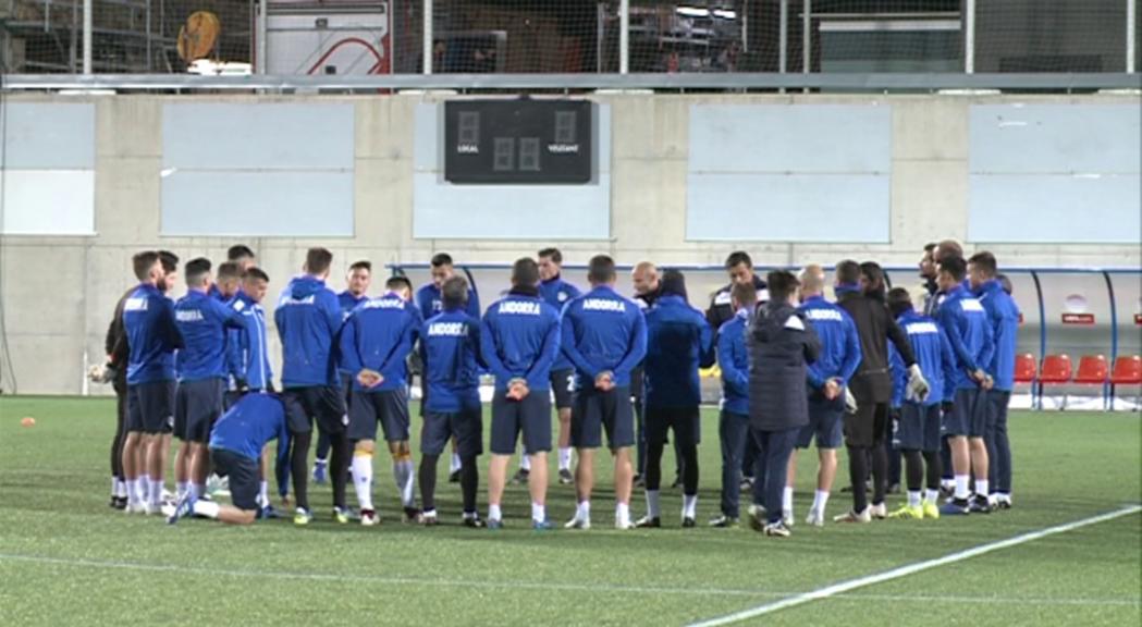 Islàndia posarà a prova Andorra a l'Estadi Nacional
