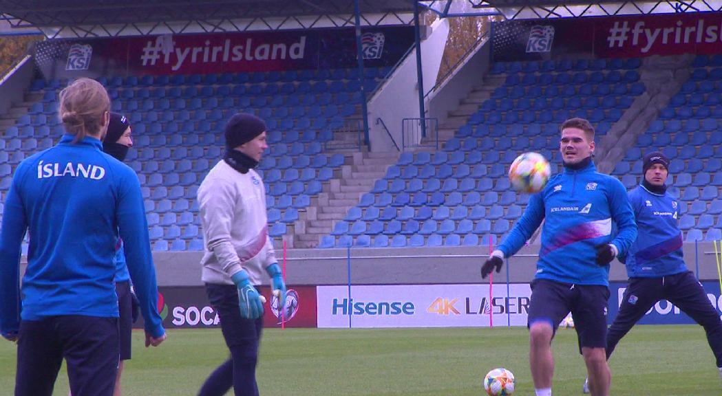 Islàndia tem la bona defensa d'Andorra i que ve de guanyar Moldàvia