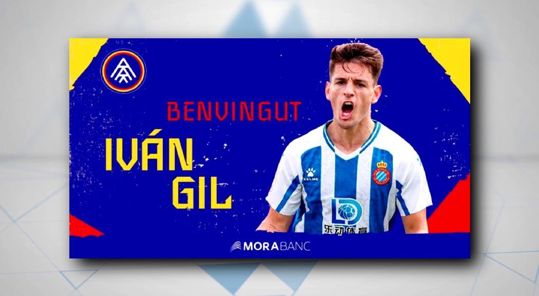 Iván Gil, novena incorporació del FC Andorra