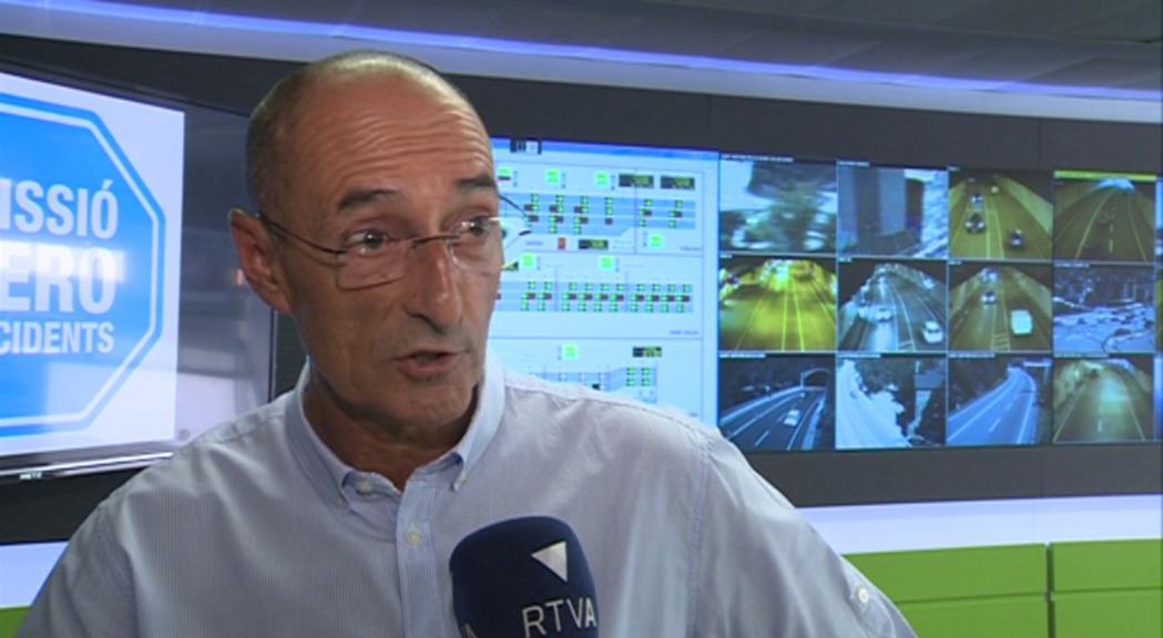 """Jaume Bonell: """"Comença a ser altament interessant l'autobús, per freqüència, per horaris i per preu"""""""