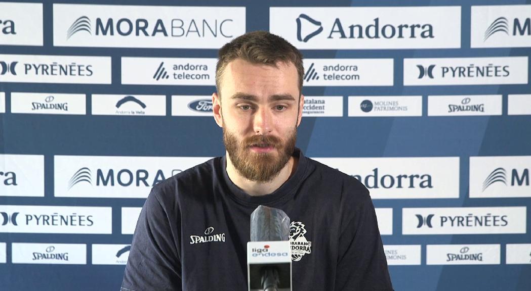 Jelínek considera que jugar sense públic afavorirà el MoraBanc en el debut a la fase final