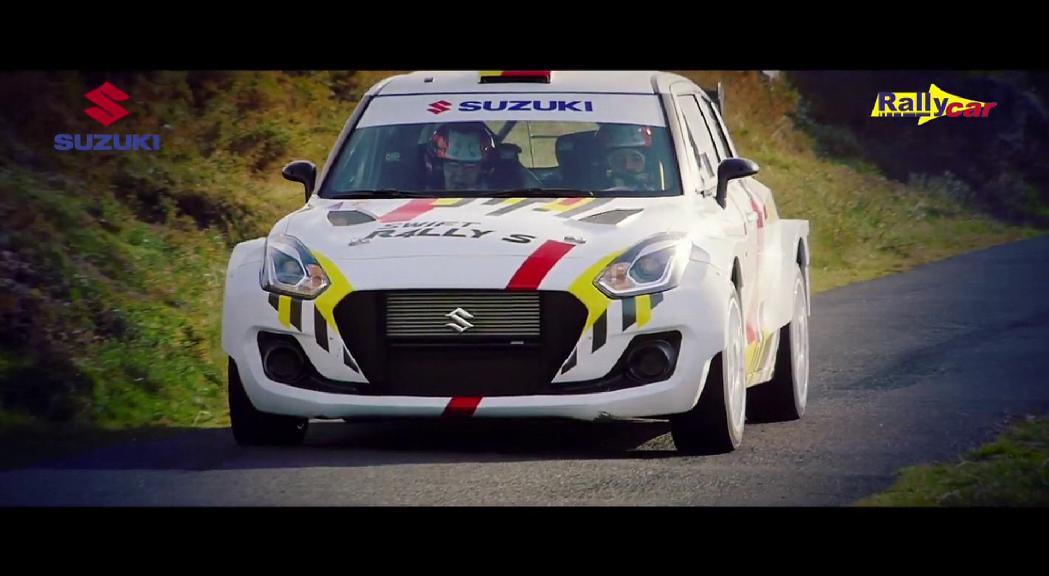 Joan Vinyes tornarà al Mundial de ral·lis amb el nou Suzuki Swift