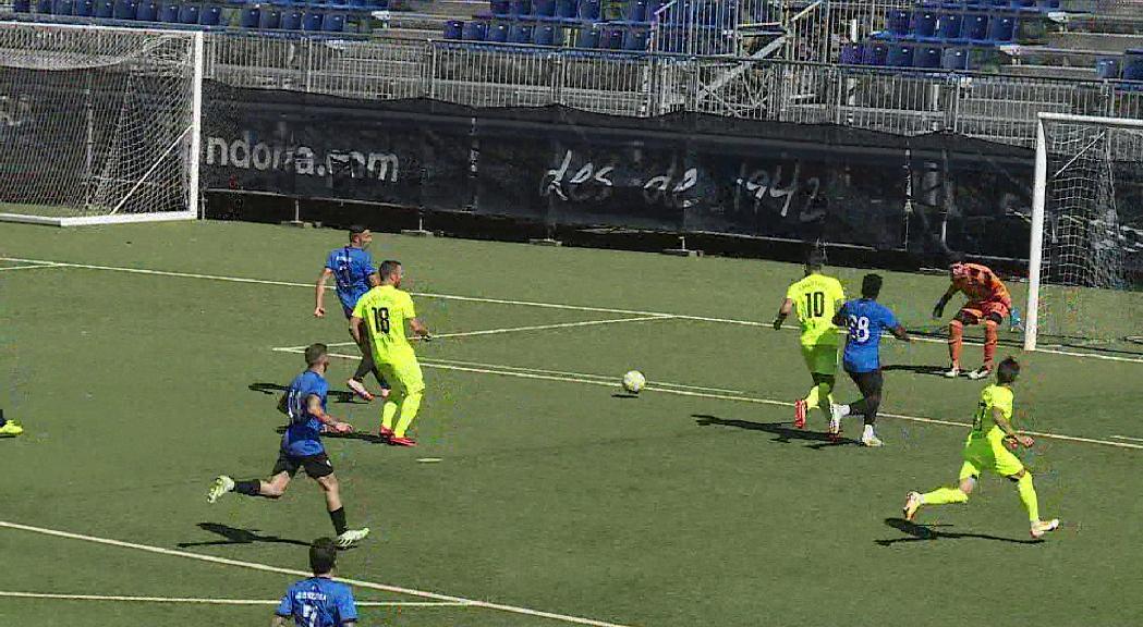 El joc del nou FC Andorra convenç a manca dels darrers reforços