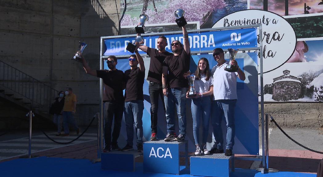 Jonathan i David Domene s'adjudiquen el 50è Ral·li d'Andorra